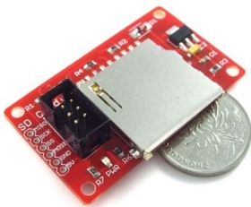 SPI SD Memory Shield