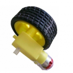 Smart Car Tire With Gear Motor