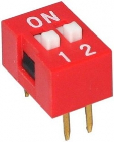 DIP Switch - 2 Position