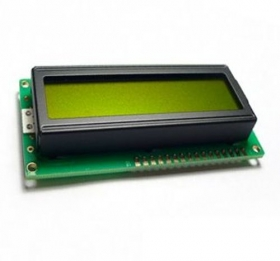 LCD 16*4 Characters - Yellow&Green Back Light