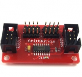 Digital Output-Port Shield V2.0 -Arduino Compatible