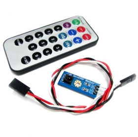 Infrared Remote Control Kit -Arduino Compatible