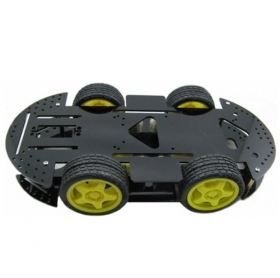 4WD Arduino Robot Raider Car Kits