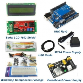 UNO Rev3 Starter Package Kits With LCD1602 Shield