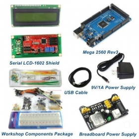 Mega 2560 Rev3 Starter Package Kits With LCD1602 Shield