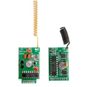 4KM Long Range RF Link Kits With Encoder And Decoder - 433Mhz