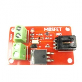 1 Route MOSFET Button IRF540 Module -Arduino Compatible