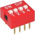 DIP Switch - 4 Position