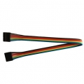 7 Pin Dual-female Jumper Wire -200mm