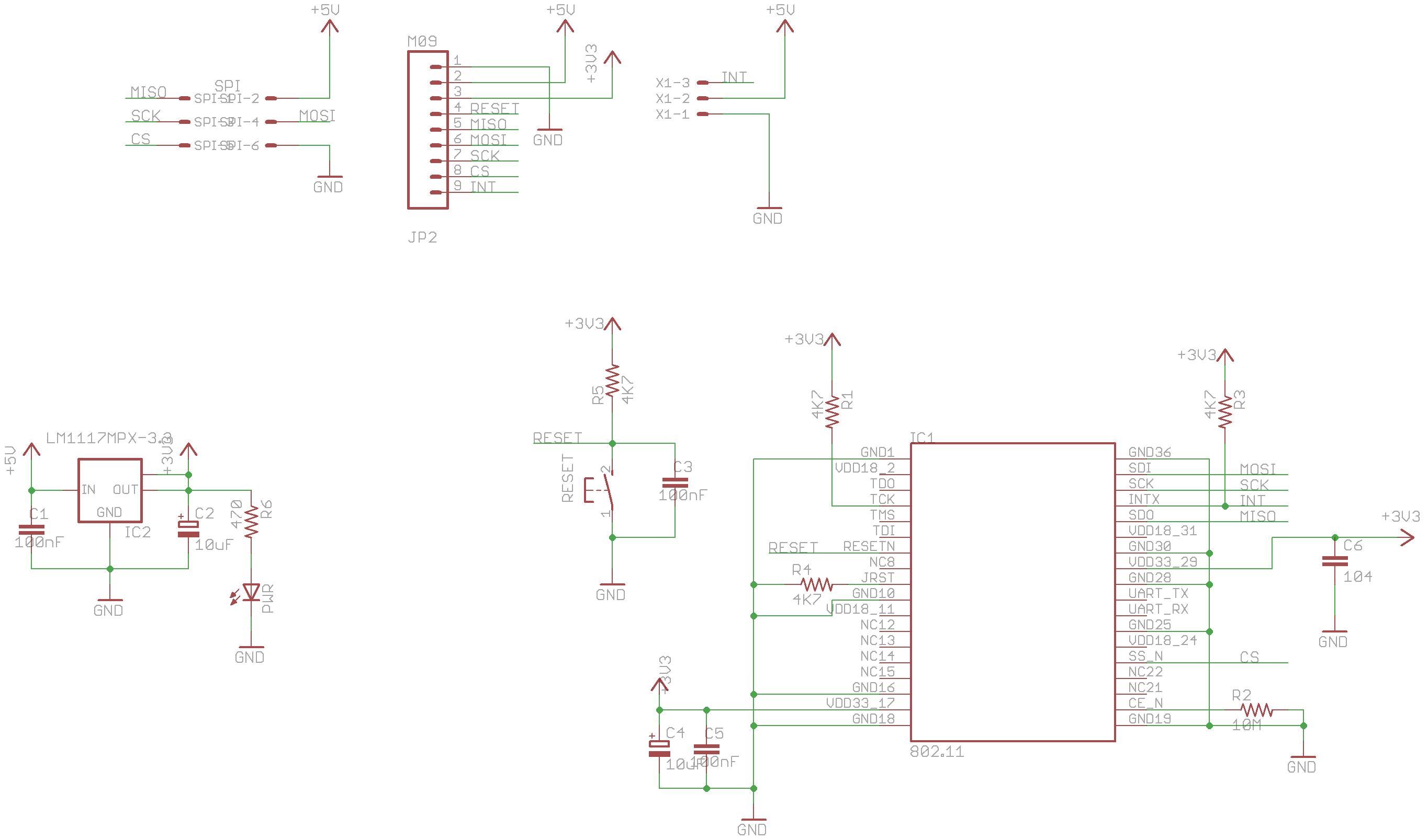 arduino spi wifi module